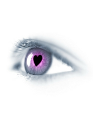 Loving eye - think with your heart