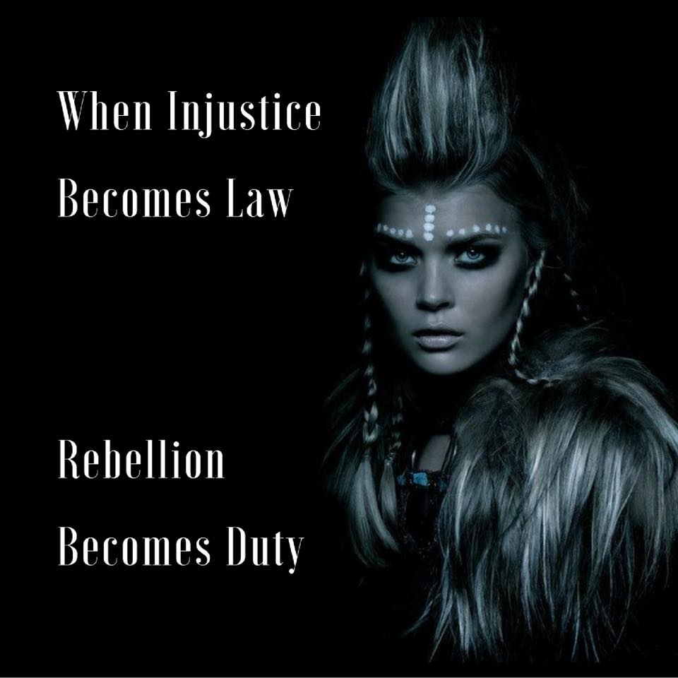 When injustice becomes law.